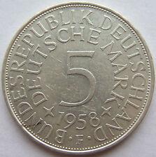 TOP! 5 DM 1958 F in VORZÜGLICH+++ SELTEN !!!