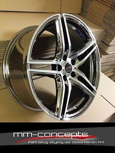 20 Zoll Concave XRT Felgen 5x112 für Audi A6 4F A8 Q3 Avant Limousine RS Chrom