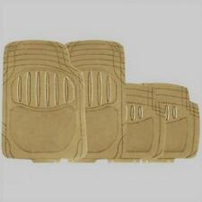 RM401 Heavy Duty TAN / Beige Rubber Carpet Floor Mats MC18/02