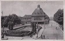 Herne - Hauptbahnhof - S/W Original Fotografie 1941 - Postalisch gebraucht