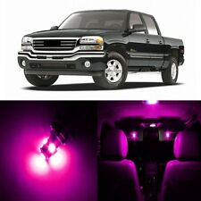17 x Pink LED Interior Light Package For 1999 - 2006 GMC Sierra + PRY TOOL