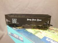 HO SCALE ATHEARN NICKEL PLATE ROAD 63857 2-BAY OFFSET HOPPER BLUE BOX KIT BUILT