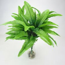 Artificial Fake Fern Grass Flower Plants Plastic Green Home Party Decor Floral