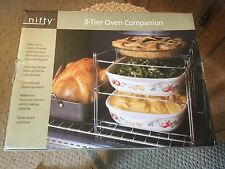 "Nifty 3 Tier Oven Companion.  New in box.  14.5"" x 11.5"" x 10.5""."
