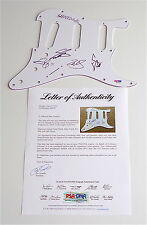 SHINEDOWN X4 BRENT SMITH BARRY KERCH ERIC BASS & ZACH MYERS SIGNED PICKGUARD PSA