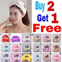 Makeup Headband Hairband HeadWrap Terry Cloth Towel for Bath Spa Shower