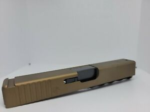 Complete slide upper glock 19 gen 3 BURNT BRONZE premium cerekote