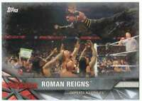 2017 Topps WWE Road to WrestleMania Silver Parallel /25 #83 Roman Reigns