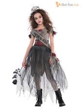 Girls Teen Zombie Prom Queen Costume Age 12 13 14 Halloween Fancy Dress Costume