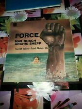 ORIGINAL FRENCH 2 LPs  FREE JAZZ MAX ROACH ARCHIE SHEPP FORCE EX 1976 UNITELEDIS