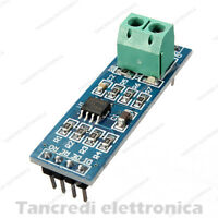 Modulo shield convertitore RS485 MAX485 TTL RS 485 seriale (Arduino-Compatibile)