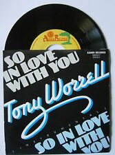 """7"""" Tony Worrell So In Love With You Holland Ashok Records 1985 Funk Soul"""