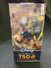 New Ceaco Thomas Kinkade Puzzle Beauty and the Beast Falling In Love 750 Piece