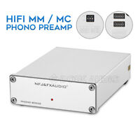 Mini MM / MC Phono Stage Preamplifier Turntable Amplifier Record Player Preamp