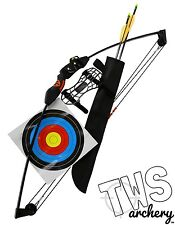 Chameleon 15lb Compound Bow And Arrow Package, Suits Children, Kids & Youth