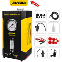 AUTOOL SDT206 Smoke Machine Leak Detector Fuel Pipe Leak Diagnostic Tester 12V