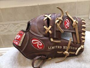 "Rawlings 125th Anniversary Limited Edition 11.25"" Baseball Glove Right Hand Thro"