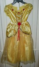 Girl's Disney Princess Belle Dress and Shoes Ages 5-7