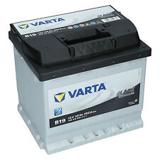 Varta 12V 45Ah 400A/EN Autobatterie Black Dynamic B19 Starterbatterie