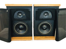 Vintage AR Acoustic Research TSW 110 Bookshelf Speakers * Great Sound Working *