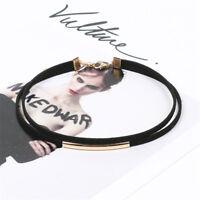 1 Piece Fashion Jewelry Accessory Black Velvet Choker Double Layer Necklace