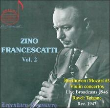 NEW Zino Francescatti, Vol. 2 (Audio CD)