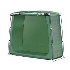 ALEKO PE Bike Storage Tent Tall Rectangular Space Saving Outdoor 64 Inch Green