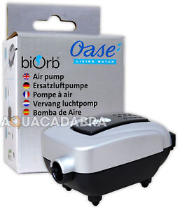OASE BABY BIORB / MOONLIGHT AIR PUMP 12V AC 50HZ AQUARIUM FISH TANK