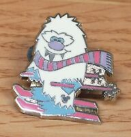 Genuine Disney 2011 Hidden Mickey Yeti Abominable Skiing Snowman Collectible Pin