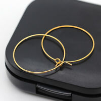 20 jewelry Circle Basketball wives alloy Hoop Ear wire hook Ring Earring 20-40mm
