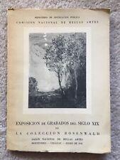 Exposicion De Grabados Del Siglo XIX De La Colleccion Rosenwald
