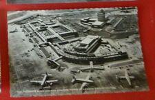 Postcard London Airport CentrelPassenger Buildings & Control Tower Heathrow ? RP