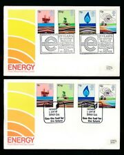 1978 ENERGY FDCs SEGAS + DUNGENESS NUCLEAR...2 COVERS