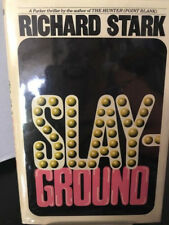 Richard Stark SLAY-GROUND Rare fine first edition in beautiful dust jacket!