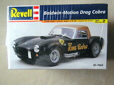FACTORY SEALED Baldwin-Motion Drag Cobra by Revell #85-7664