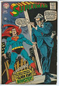 DC Comics- Superman #209 August 1968