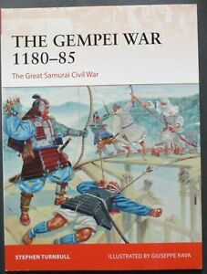 Osprey Campaign Series No.297 The Gempei War 1180-85 - Pre Owned!