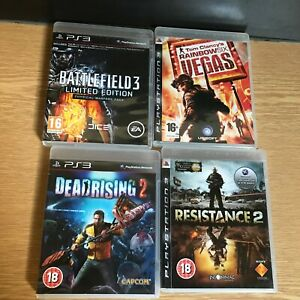 PS3 Bundle of 4 action packed shoot em' up games