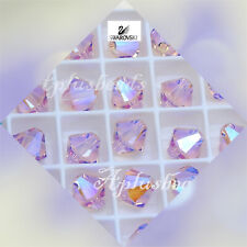 Authentic Swarovski Crystal  #5301,#5328 8mm Bicone Beads 12pcs Special Coating
