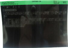 Honda CRF250X 2004 Parts List Microfiche h238