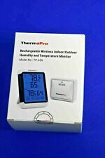 Therm Pro Indoor Outdoor Humidity & Temperature Monitor, Model TP-65A Open Box