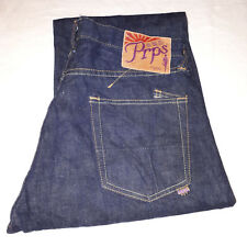 PRPS Rambler Jeans 30W 30L Dark Indigo Wash RRP $400+ Outstanding Condition
