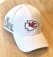 KANSAS CITY CHIEFS NFL 100 Seasons Patch Style Cap Hat 2019 Patch 100th WHITE !