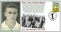 1948 INVINCIBLES 60th ANNIV CRICKET COVER, RAY LINDWALL