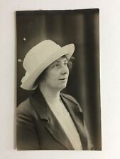 Vintage BW Real Photograph #AQ: Woman Named WOLFE Scarborough