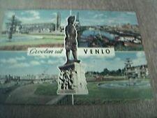 postcard used stamped franked 1970 gioeten uit venlo