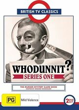 Whodunnit? : Series 1 (DVD, 2013, 2-Disc Set), Like new, free shipping