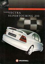 Vauxhall Vectra Supertouring 200 2.5 V6 24v Limited Edition 1997 UK Brochure