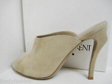 NIB YSL Yves Saint Laurent FIZZ 105  Suede Slides Mules Sandals Shoes 37