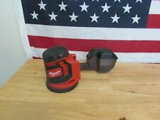 "USED, MILWAUKEE M18 2648-20 REDLITHIUM CORDLESS 5""RANDOM ORBIT SANDER 886"